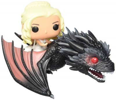 funko pop Daenerys red dragon